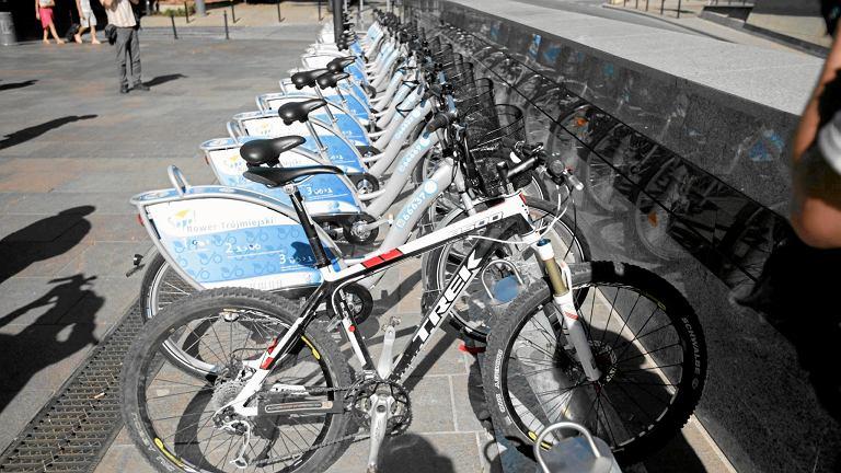 Rowery miejskie firmy Nextbike w Sopocie