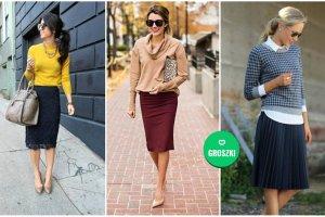 0b83725c13 Jak się ubrać do pracy - stylizacje ze spódnicą