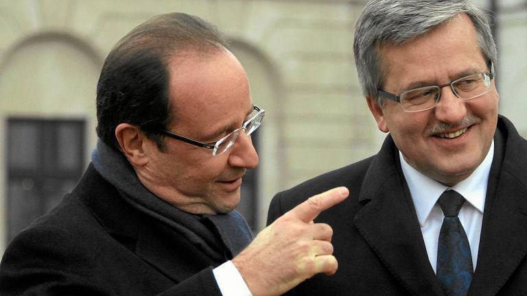 Prezydencki Francji i Polski