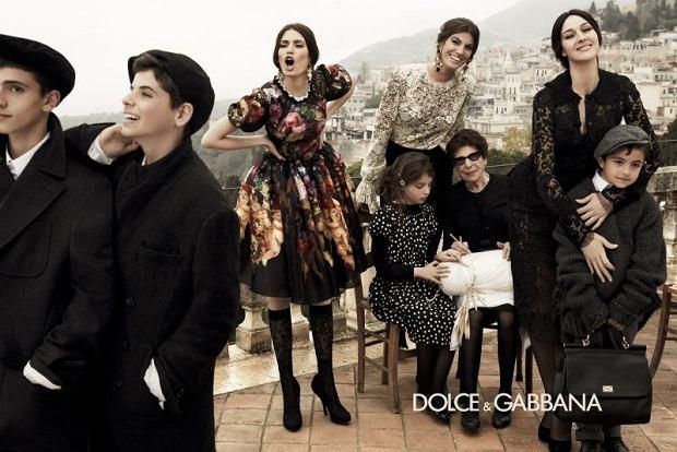 Kampania Dolce & Gabbana, jesie� 2012, Monica Bellucci i Bianca Balti