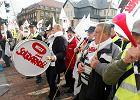 Protesty g�rnik�w (zdj�cia z listopada 2014 roku)