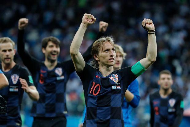 923f2dba3 Mundial 2018. Argentyna - Chorwacja. Obietnica Luki Modricia MŚ ...