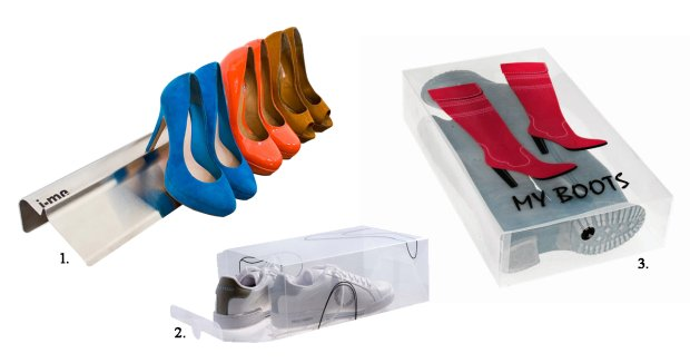 Pudełka na buty, przechowywanie butów