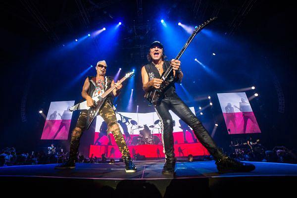 Zespół Scorpions w Atlas Arenie