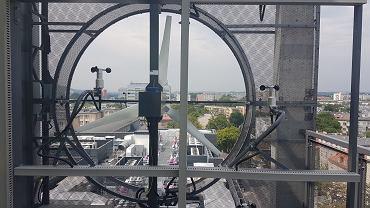 Turbina na Centrum Energetyki przy ul. Czarnowiejskiej