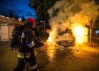 Seria tajemniczych podpaleń na Mokotowie. Nie płacisz? Płoniesz