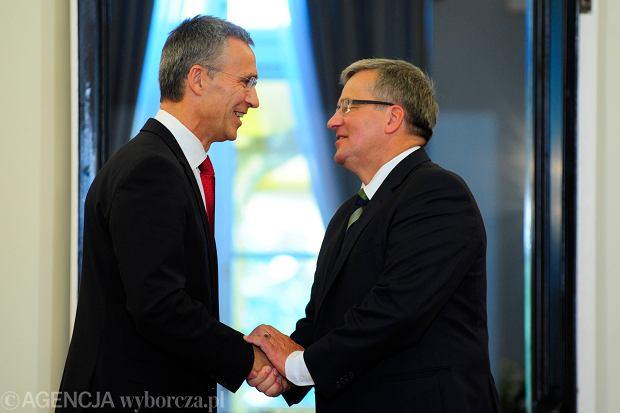 Stoltenberg: Dotrzymujemy zobowi�za�. NATO broni i chroni ka�dego sojusznika