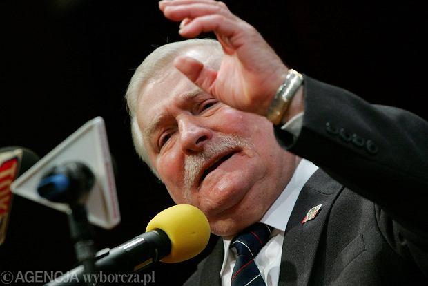 Lech Wa��sa odbiera tytu� Honorowego Obywatela Szczecina (kwiecie� 2009)