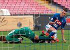 Serie A. Napoli - Fiorentina. Napoli wygrywa po bramce Insigne. Grało trzech Polaków. Milik z asystą