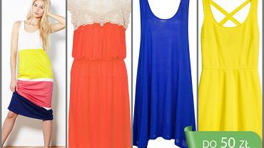 10 sukienek do 50 zł