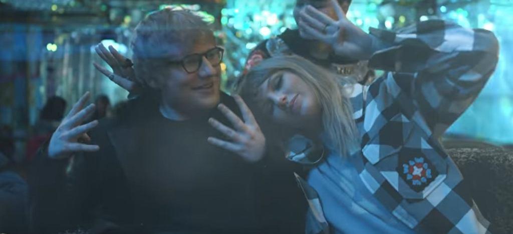 Ed Sheeran i Taylor Swift w teledysku do utworu 'End Game' / screen z YouTube