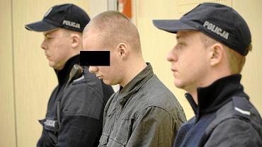 Piotr Lewandowicz podczas ogłoszenia wyroku w marcu 2016 r.