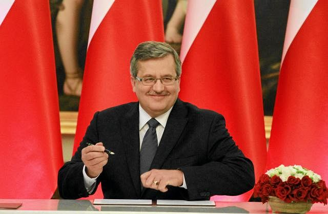 Prezydent Bronisław Komorowski