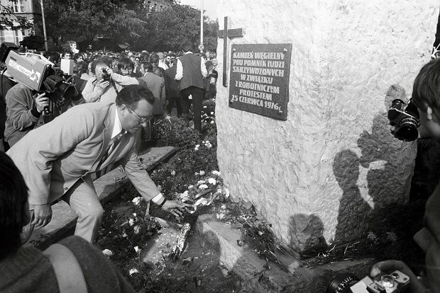 Radomski Czerwiec 1976. Historia kamienia, kt�ry sta� si� pomnikiem