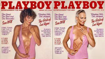 Candace Collins na okładce Playboya z 1979 roku.