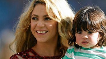 <b>Już przed finałem odbyła się ceremonia zamknięcia mundialu. Wystąpili na niej między innymi Shakira i Carlos Santana. Zobacz najlepsze zdjęcia z ceremonii i meczu.</b><br> Shakira ze swoim synem Milanem