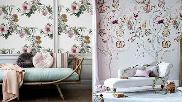 Wiosenny trend - tapeta w kwiaty