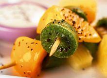 Owocowy szaszłyk z kiwi - ugotuj