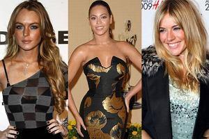 Lindsay Lohan, Beyonce, Sienna Miller.
