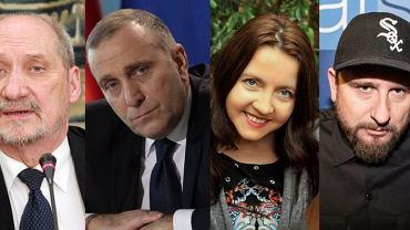 Antoni Macierewicz, Grzegorz Schetyna, Joanna Lichocka, Liroy