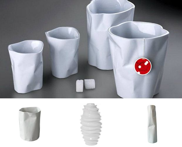 Ćmielów Design Studio - kolekcja Pogięte