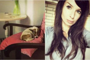 Marta Kaczy�ska na Instagramie pokazuje g��wnie fotografie kot�w i psa, ale gdy si� przyjrzycie, z �atwo�ci� dostrze�ecie wystr�j jej sopockiego mieszkania. Zobaczcie, jak mieszka.