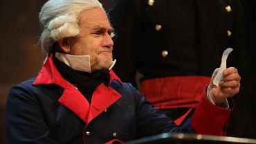 Jan Peszek w roli tytułowej w 'Wielkim Fryderyku'