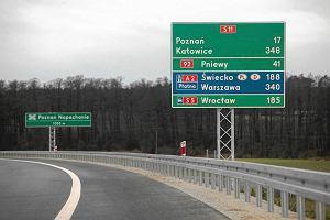 Za 8 lat dojedziemy ze Śląska trasą S11 do Poznania
