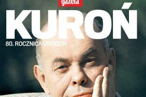 80. urodziny Jacka Kuronia w siedzibie ''Wyborczej''