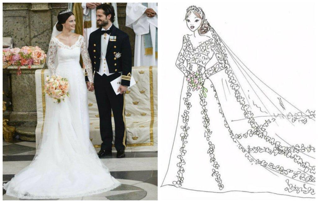 Suknie ślubne Królowych I Księżniczek Z Lat 1946 2015 Roku Czyj