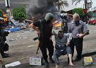 Egipt. Krwawe starcia podczas likwidacji oboz�w zwolennik�w Mursiego. Co najmniej 525 ofiar, ponad 3,5 tys. rannych