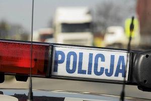 Wypadek na DK1 w Piasku. Jeden pas w kierunku Bielska-Bia�ej by� zablokowany