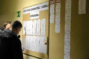 Bezrobocie wynosi 13 proc. Liczba bezrobotnych spad�a o... 900 os�b