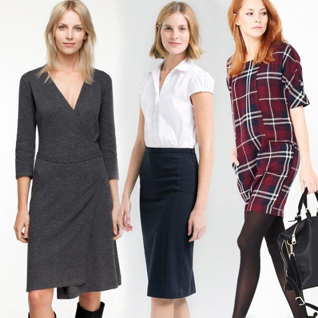 Sukienki do pracy z zimowych wyprzeda�y