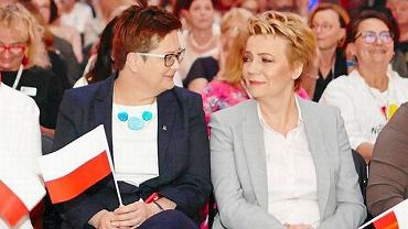Katarzyna Lubnauer i Hanna Zdanowska