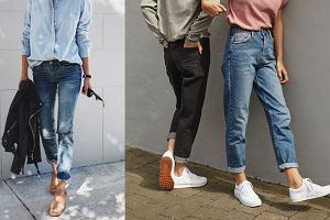 Boyfriend jeans - trzy stylizacje idealne na wiosnę