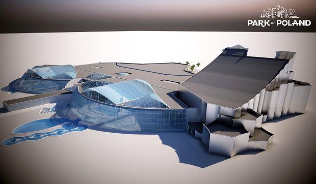 Zdjęcie numer 4 w galerii - Zjeżdżalnia długa jak wieża Eiffla i basen ze sztuczną falą. W Polsce powstaje największy park wodny w Europie