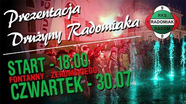 Prezentacja Radomiaka w czwartek
