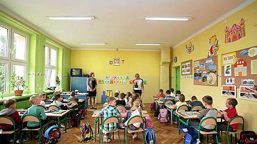 Wrzesień 2014, sześciolatki w jednej z białostockich podstawówek