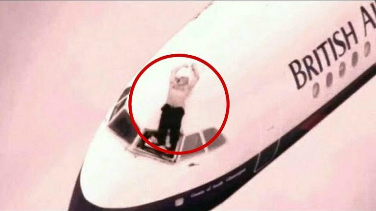 Pilot British Airways został wyssany z samolotu