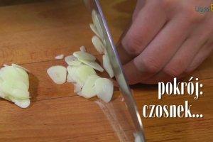 Krewetki z czosnkiem i chilli [Jakub Kuro� gotuje]