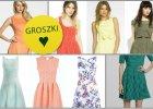 Sukienki w wiosennych kolorach dla kobiety o figurze gruszki - ponad 70 propozycji