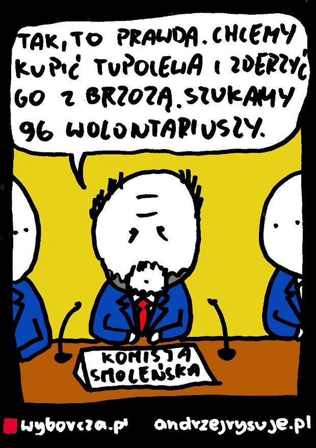 Andrzej Rysuje   Wolontariat smole�ski - Andrzej Rysuje, 16.09.2016 -
