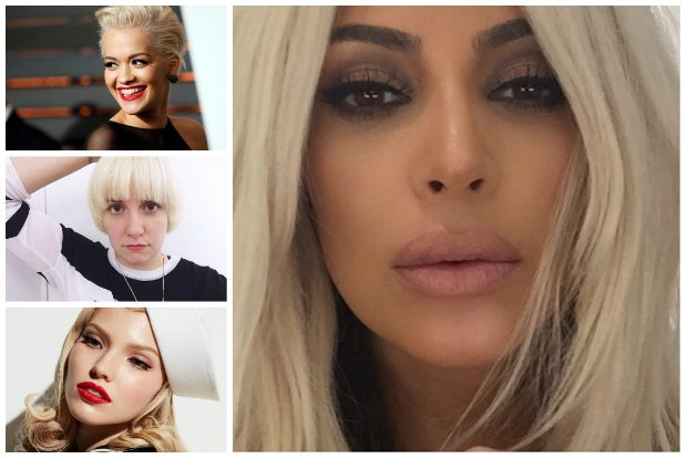 Efekt Kim Kardashian. Czy platynowy blond naprawd� jest ostatnim krzykiem mody? [PYTAMY EKSPERTA]