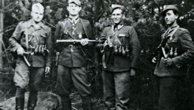Członkowie niepodległościowej partyzantki antykomunistycznej