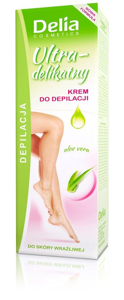 Kremy do depilacji Delia Cosmetics
