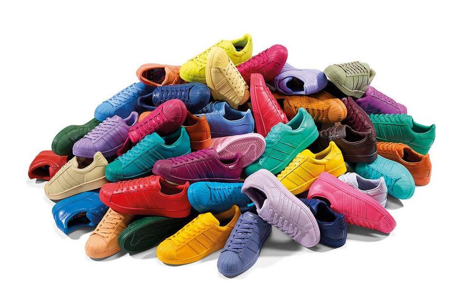 d0130e2b8f365 Bajecznie kolorowe adidasy z kolekcji adidas Originals by Pharell Williams