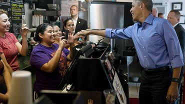 Barack Obama w drodze na SXSW zatrzymał się w barze teksańskiej sieci Torchy's Toco