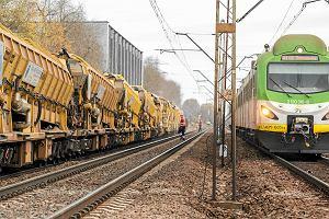 Po awarii utrudnienia na linii kolejowej Skierniewice