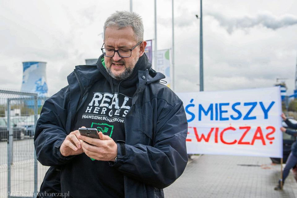 Rafal Ziemkiewicz podczas  Targow Ksiazki w Krakowie, 29 października 2017